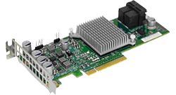 SUPERMICRO 12Gb/s SAS controller, External RAID Adapter LSI SAS 3008, 8-port (external), RAID 0,1,10