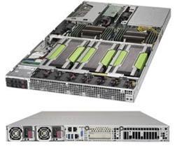 """SUPERMICRO 1U GPU server 2x LGA2011-3, iC612 , 16x DDR4 ECC R,2x SATA3 HS (2,5""""), 2x2000W, 2x10GbE, IPMI, 4xGPU/MIC opti"""