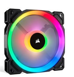 Corsair ventilátor LL120 RGB LED, 1x 120mm, 24.8dBA (3 v balení)