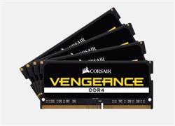 Corsair DDR4 32GB (Kit 4x8GB) Vengeance SODIMM 4000MHz CL19 černá