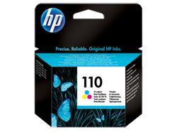 HP 110 Tri-colour Inkjet Print Cartridge, Vivera Inks