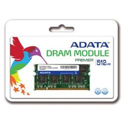ADATA DDR 512MB SODIMM 400MHz CL3 - retail balení