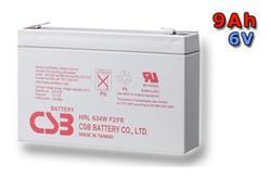 CSB battery kit HRL634WF2, 6V, 34W/cell (9Ah)