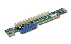 SUPERMICRO Riser card 1U 1x UIO + 1x PCI-X 133MHz Slot - LEFT SIDE