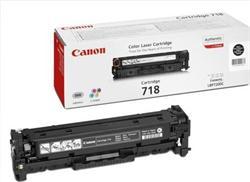 Canon Toner Cartridge 718Bk pro LBP-7200 a MF8330/8350, černá, 3400str