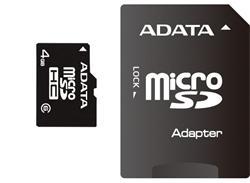 ADATA 32GB Micro SD SDHC class 4