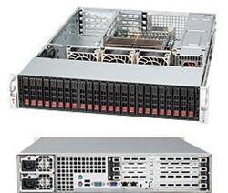 "SUPERMICRO 2U chassis 24x 2,5"" HS SAS/SATA (6x SFF 8087), 2x900W, UIO"