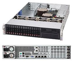 "SUPERMICRO 2U chassis 16x 2,5"" HS SAS/SATA (4x SFF 8087), 1x 5,25"", 2x920W (80PLUS Platinum), UIO"