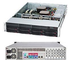 "SUPERMICRO 2U chassis 8x 3,5"" HS SAS/SATA, 2x740W (80PLUS Platinum) (pro MB X9)"