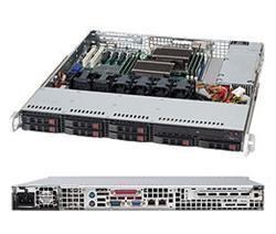 "SUPERMICRO 1U chassis 8x 2,5"" HS SAS/SATA, 600W (80PLUS Platinum)"