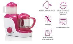 TOPCOM Baby Blend & Cook, All-In-One přístroj na přípravu dětské stravy,rozmrazování,mixování,vaření na páře,ohřívání
