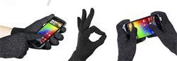 sGloves - speciální rukavice se stříbrnými vlákny pro dotykové displaye, tablety  a smartphony - vel.S/M