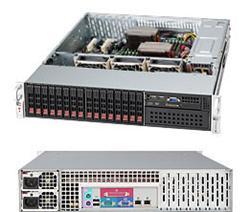 "SUPERMICRO 2U chassis 16x 2,5"" HS SAS/SATA (4x SFF 8087), 1x 5,25"", 2x740W (80PLUS Platinum)"