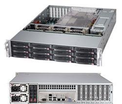 "SUPERMICRO 2U SuperStorage Server 2xLGA 2011, 24xDIMM DDR3 reg.,12x HS 3,5"" SAS2/SATA3,LSI 2208, 2x920W,IPMI"