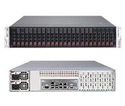 "SUPERMICRO 2U SuperStorage Server 2xLGA 2011, 16xDIMM DDR3 reg.,24x HS 2,5"" SAS2/SATA3,LSI 2308, 4xLAN, 2x920W,IPMI"