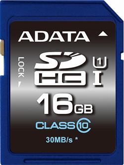 ADATA 16GB Secure Digital (SDHC) class 10/UHS-I Premier