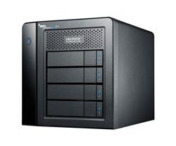 PROMISE Pegasus 2 R4 4-bay 8TB (4 x 2TB SATA HDD), RAID 0,1,5,6,10, 2x Thunderbolt 2 port + kabel