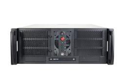 Server Chassis Chenbro RM41300H-2FBT, rack 4U, Black, bez zdroja