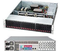 "SUPERMICRO 2U chassis 24x 2,5"" HS SAS/SATA (12Gb/s SAS3 Expander - 1x SFF 8643), 2x920W (80PLUS platinum)"