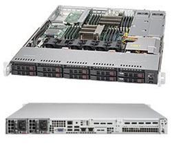 "SUPERMICRO 1U server 2x LGA2011-3, iC602J, 16x DDR4 ECC R, 8x SAS3 HS (2,5"")+2x NVMe,2x1GbE, 2x700W, IPMI"