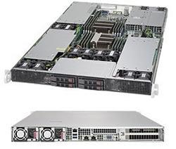 """SUPERMICRO 1U GPU server 2x LGA2011-3, iC612 , 16x DDR4 ECC R, 4x SATA3 HS (2,5""""), 2x1600W,2x10GbE, IPMI, 3xGPU/MIC optional"""