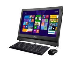 MSI PC WIND TOP AP200-200XEU black Flicker-Free 20'' MT/G3250/H81/4GB/HD4400/500GB/DVDRW/USB3/3in1/1Mpx/no-OS