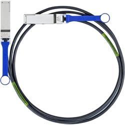 Mellanox passive copper cable, VPI, up to 56Gb/s, QSFP, 2m