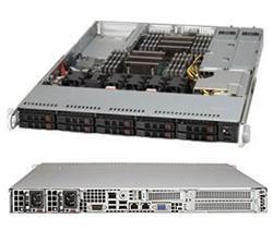 """SUPERMICRO 1U chassis 10x 2,5"""" HS SAS3/SATA3 (8xSAS3/2xNVMe), 2x700/750W, WIO"""