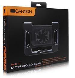 """CANYON chladící podstavec na notebook 12-17"""" s ventilátorem, nové balení"""