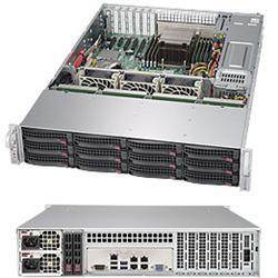 """SUPERMICRO 2U SuperStorage Server 1xLGA-2011-3, 8xDIMM DDR4 ECC reg.,12x HS 3,5"""" bay, Expander, LSI3008 SW con., 2x920W"""