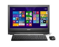 MSI PC WIND TOP AP200-231XEU Black Flicker-Free 20'' MT/i3-4160/H81/4GB/HD4400/500GB/DVDRW/USB3/1Mpx/com port/no-OS