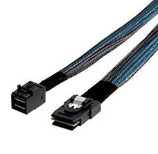 INTEL 730mm long cables, cable kit cabstraight MiniSAS-HD (SFF-8643) to straight MiniSAS