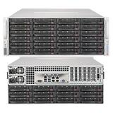 SUPERMICRO 4U SuperStorage server RAID 12Gb/s SAS/SATA 36xHS HDD (expand.24front+12rear), HW RAID LSI 3108, 2x1280W,IPMI